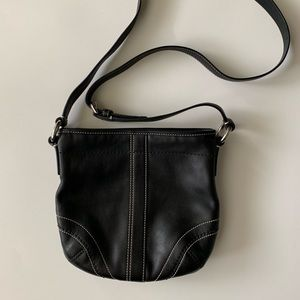 Handbags - Leather Crossbody Bag